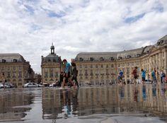 Miroir d'eau - Bordeaux / photo by Camila Shoji