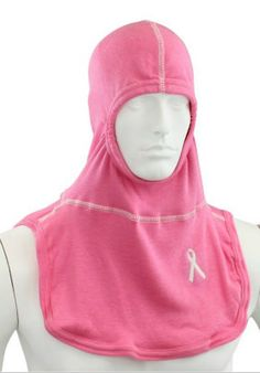 Pink Breast Cancer Awareness Nomex Firefighter Hood | Shared by LION