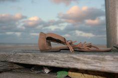 verloren sandaal?