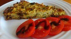 Zvířátkový den - květákový nákyp - květák, vejce, strouhaný sýr, šunka, sušená rajčata, petrželka, koření