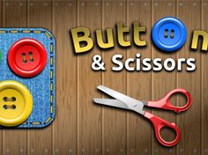 Buttons and Scissors Logic Game for iOS and Android