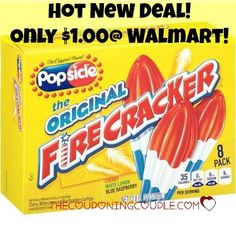 *~*~*~PRINT NOW~*~*~* Print a new $0.50/1 Popsicle coupon now! Grab boxes of Popsicle Firecrackers for only $1.00 at Walmart! The kids will love you!  Click the link below to get all of the details ► http://www.thecouponingcouple.com/cheap-new-coupon-means-1-00-box-of-popsicle-firecrackers-walmart/  #Coupons #Couponing #CouponCommunity  Visit us at http://www.thecouponingcouple.com for more great posts!