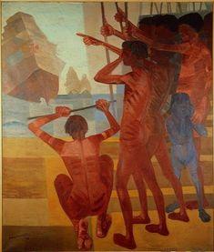Candido Portinari, Descobrimento do Brasil, 1956