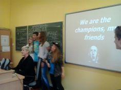 Tablice multimedialne, nowa technologia i świetny nauczyciel ! :D