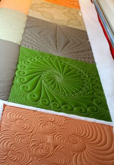 Love these designs by Tanya Heldman of Free Range Quilting.....beautiful!!