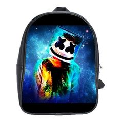 FORTNITE MARSHMELLO EVENT LEATHER XL BACKPACK Marshmello Alone, Dj Marshmello, Battle Royale, The Dj, Game R, Cool Backpacks, One Pic, Gifts For Kids, Colorful Backgrounds