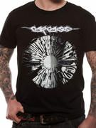 Officially licensed Carcass t-shirt design printed on a Black 100% cotton short sleeved T-shirt.