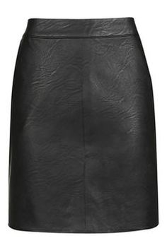 TALL PU Short Pencil Skirt