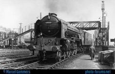 A1 Steam Locomotive 'Aberdonian' at Cambridge