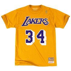 Shaquille O'Neal Los Angeles Lakers Shirts