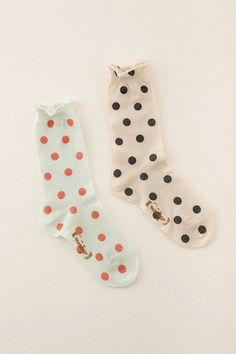 socks + dots.