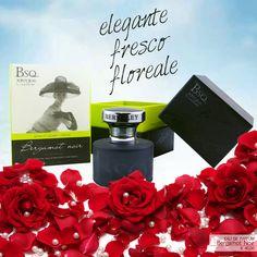 Eau de Toilette BSQ Bergamot Noir | Dalla linea Natural Couture di Berkley Square, un profumo dall'aroma fresco, floreale e agrumato. La fragranza è data dall'unione del bergamotto e degli oli essenziali di neroli.