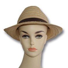 chapeau en jonc 100%naturel