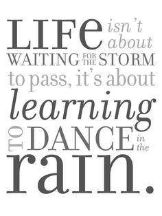 Dance in the Rain Free Printable Download