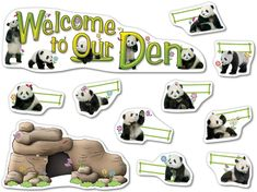Welcome to Our Den Bulletin Board Bear Bulletin Board Ideas, Back To School Bulletin Boards, Classroom Bulletin Boards, Classroom Design, Classroom Themes, Classroom Organization, Welcome Students, School Decorations, Room Decorations