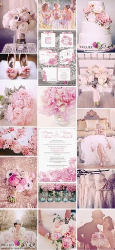 PIWONIE romantyczne i eleganckie zaproszenia i dodatki ślubne w odcieniach różu, bieli i szarości z motywem piwonii, zaproszenia ślubne piwonie,