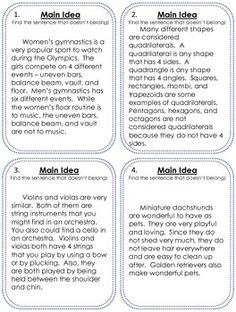 Worksheet Main Idea Worksheets 5th Grade teaching 5th grade worksheets and grades on pinterest when i was a kid the words main idea used to make me want to