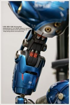 G-System 1/60 MS-18E Kampfer - Painted Build     Modeled by nailsoung
