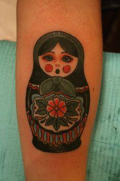 cris cleen russian doll tattoo