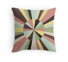 Colorful retro beams  #beams #stripes #wheel #colorful #retro #pillow #homedecor #design