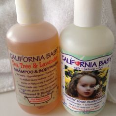 California Baby   shampoo and conditioner