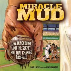 Lena Blackburn's Original Baseball Rubbing Mud:  Lena Blackburne loved baseball. He watched it, he played it, he coached it. But he didn't love the ways players broke in new baseballs. Tired of soggy, blackened, stinky baseballs, he found a better way. Thanks to a well-timed fishing trip and a top-secret mud recipe, Lena Blackburne Baseball Rubbing Mud was born