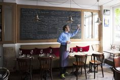 Best new Paris bistros  - Owner Benoît Duval-Arnould of Le Bon Georges
