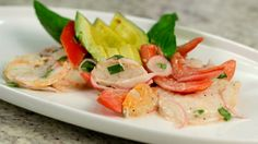 Chef Luca Della Casa's Texas Shrimp and Tomato Salad