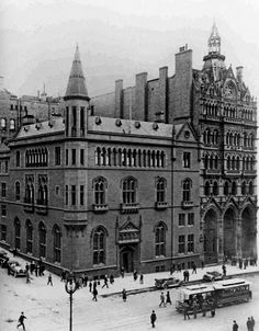 my favourite building in Melbourne - ANZ Gothic Bank on Collins Street