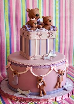 https://flic.kr/p/f3kqGM | Bear cake