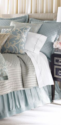 Jackie Bed Linens ~ Gorgeous Bedroom Design interior design ideas and home decor
