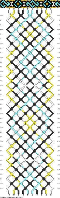 chinese knot pattern    #76720 - friendship-bracelets.net