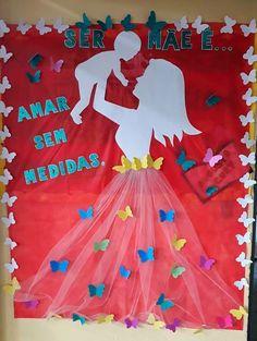 Diy Resin Crafts, Diy Arts And Crafts, Paper Crafts, School Board Decoration, School Decorations, Kids Crafts, Preschool Crafts, Mothers Day Decor, Mothers Day Crafts