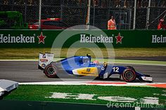 Sauber-Ferrari C35 during Friday free practice session of the 2016 Formula One Italian Grand Prix at the Autodromo Nazionale Monza.