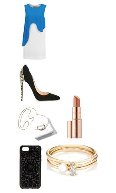 """""""One Leg Up"""" by parker-217 ❤ liked on Polyvore featuring Emilio Pucci, Cerasella Milano, Felony Case, Loren Stewart and Estée Lauder"""