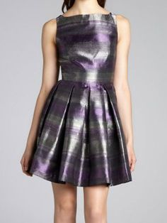Hit the homecoming dance floor in metallic!