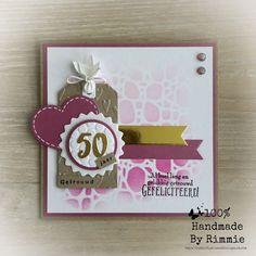 Handmade By Rimmie: 2018 60th Anniversary, Marianne Design, Birthday Cards, Cricut, Scrapbook, Christmas Ornaments, Holiday Decor, Blog, Handmade