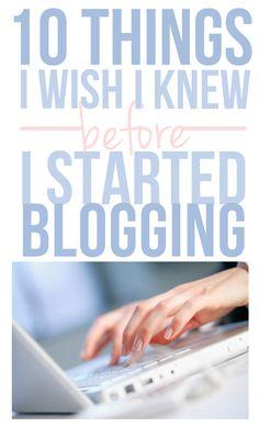 Great post on blogging.