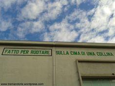 Torino - Fondazione Merz: una particolare visione della sua parete