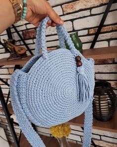 De Croche De Croche barbante De Croche com grafico De Croche de mao De Croche festa - Bolsa De Crochê Crochet Backpack Pattern, Crochet Wallet, Crochet Baby Jacket, Crochet Purse Patterns, Crochet Tote, Crochet Handbags, Crochet Purses, Diy Handmade Bags, Mochila Crochet