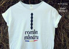 Romanian t-shirt for him by Mândră Chic #ProudRomanian