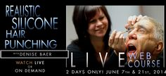Hyper-Realistic Silicone Hair Punching with Denise Baer - June 7th & 21st - 1pm - 5pm PDT