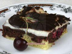 Dunajské rezy Kakao, Rum, Treats, Baking, Sweet, Food, Mascarpone, Sheet Pan, Popular Recipes