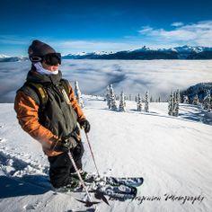 Sean Pettit above the clouds