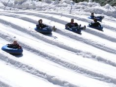 Snow tubing is a popular winter activity in the Great Smoky Mountains Gatlinburg Attractions, Ober Gatlinburg, Gatlinburg Vacation, Tennessee Attractions, Mountain Vacations, Family Vacation Destinations, Vacation Trips, Vacation Spots, Vacation Ideas