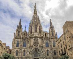 Catedral de la Santa Creu i Santa Eulàlia - Barcelona #cathedral #barcelona #ciutatvella #gotic