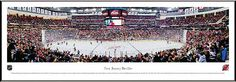 New Jersey Devils Framed Panoramic Poster Print - Prudential Center