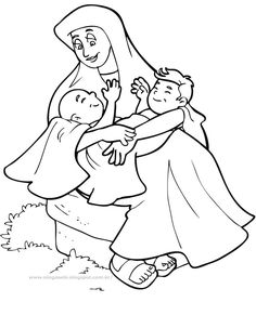 1000 images about bible ot jacob and esau on pinterest for Esau and jacob coloring pages