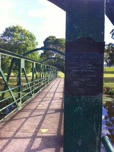 Triathlete Chronicles: Parramatta River Run. Old bridge across the Parramatta River. Railroad Tracks, Past, Bridge, Training, River, Coaching, Past Tense, Workouts