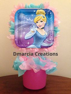 Disney Princess  Party Centerpiece by DMarciaCreations on Etsy